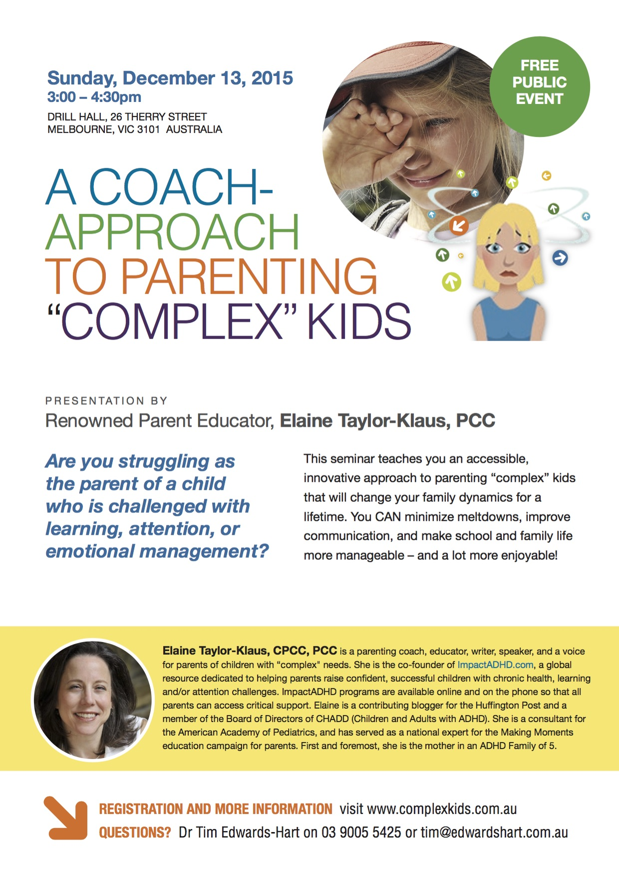 Flyers Downloads Parenting Complex Kids – Seminar Flyer